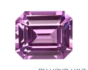 A Beautiful NaturalSapphire 1 Purple Emerald Cut AAA