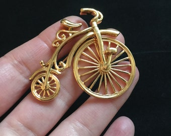 Retro Avon Bicycle Brooch