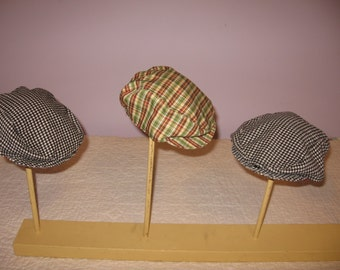 Newsboy Caps for infants , Caps for baby , Nostalgia Caps for baby boy or girl ,Retro Hats ,  Fashionable Cap for Baby