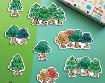 Animal Crossing Sticker Flakes