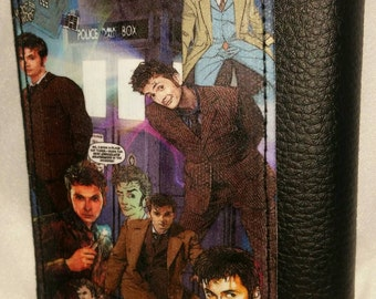 10th Doctor Who Trifold leather wallet