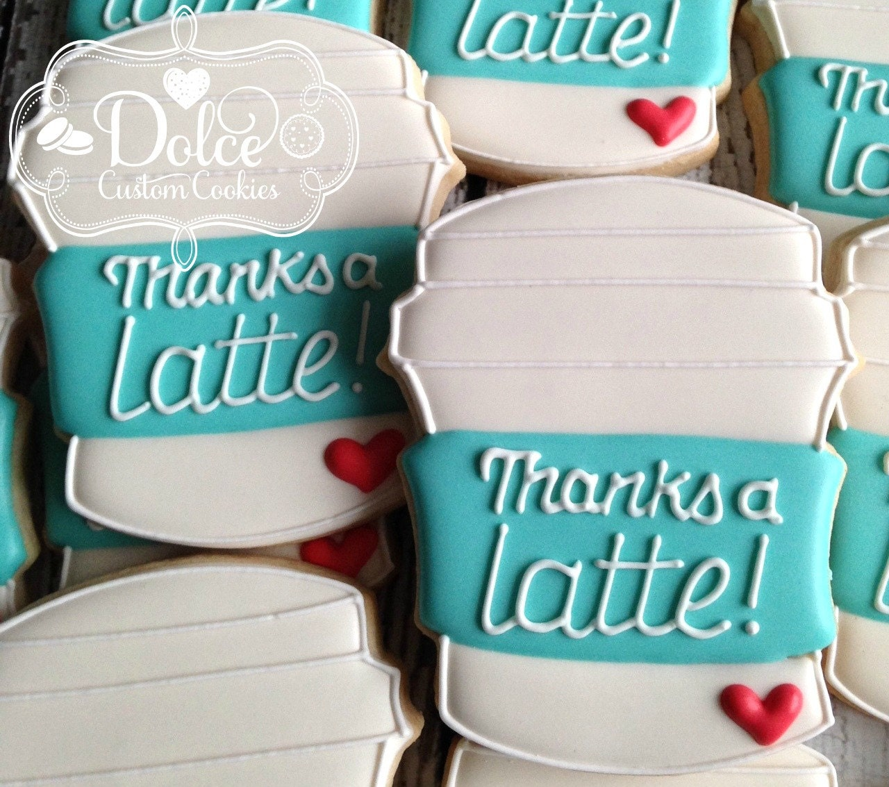 Thank You Thanks A Latte Cookies Teacher Appreciation Back To