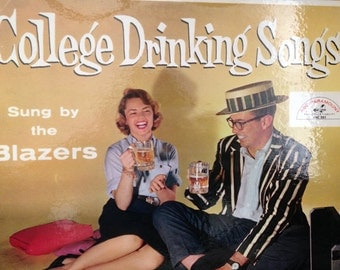 The Blazers - College Drinking Songs - vinyl record