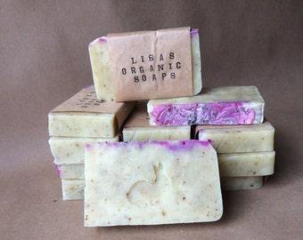 Unscented Lavender - Organic Soap Bar