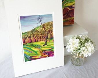 "Giclee Print 16x12"", Twisted Tree"