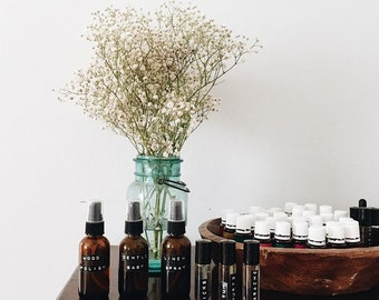 ENERGY / Energizing / Essential Oils / Holistic / Aromatherapy / Roll On / Roller Bottle / Health and Wellness / Natural Living