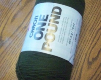 Caron One Pound Yarn - Forest Floor 16 oz / 453.6g / 812 yards **NEW**