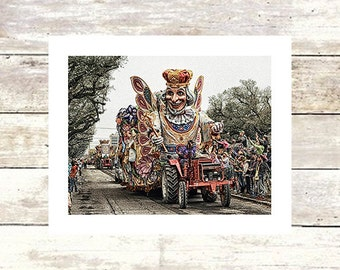 BUTTERFLY KING - New Orleans Art Rex Parade-Fine Art Photograph-Limited  edition of  250