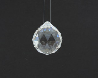 SWAROVSKI® #8550 40mm Clear Crystal Prism, Vintage Strass™ Full Lead Crystal  Ball, Discontinued Chandelier Parts