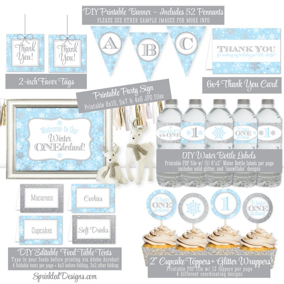 Winter Onederland Party Invitations as best invitation ideas