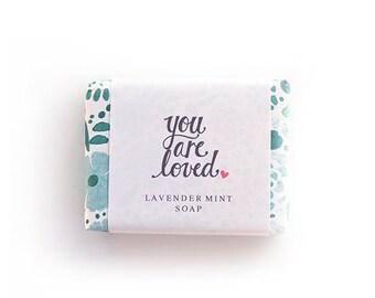 lavender & mint soap