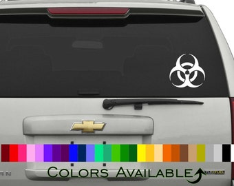 Biohazard Car Decal
