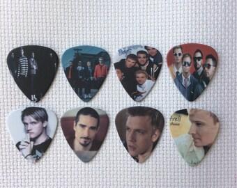 Backstreet Boys Guitar Pick Needle Minder - Cross Stitch