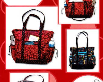 "PROFESSIONAL TOTE  - By: Creative Thimble    Your ""Hold everything bag!""  Will hold your Laptop Computer or a very nice Diaper Bag"