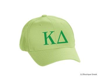 KD Kappa Delta Classic Letters Hat