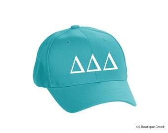 TriDelta Delta Delta Delta Classic Letters Hat