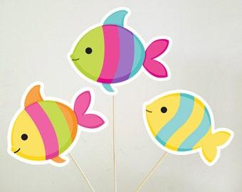 Fish Centerpieces, Under the Sea Centerpieces