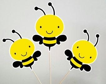 Bee Centerpieces, Bumble Bee Centerpieces