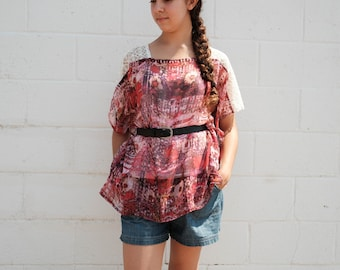 Floating Lace blouse - 3 colors available