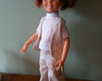 1968 Chrissy Doll with Growing Hair with stand