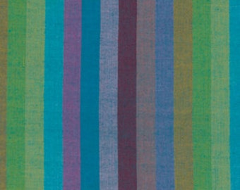 BROAD STRIPE Woven  Subterranean  broadx.subte by Kaffe Fassett fabric sold in 1/2 yard increments