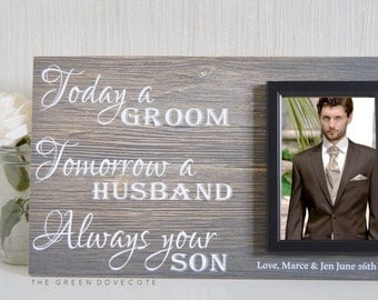 Wedding Gifts For Groom Ireland : Gift For Grooms Parents Thank You Wedding by TheGreenDovecote