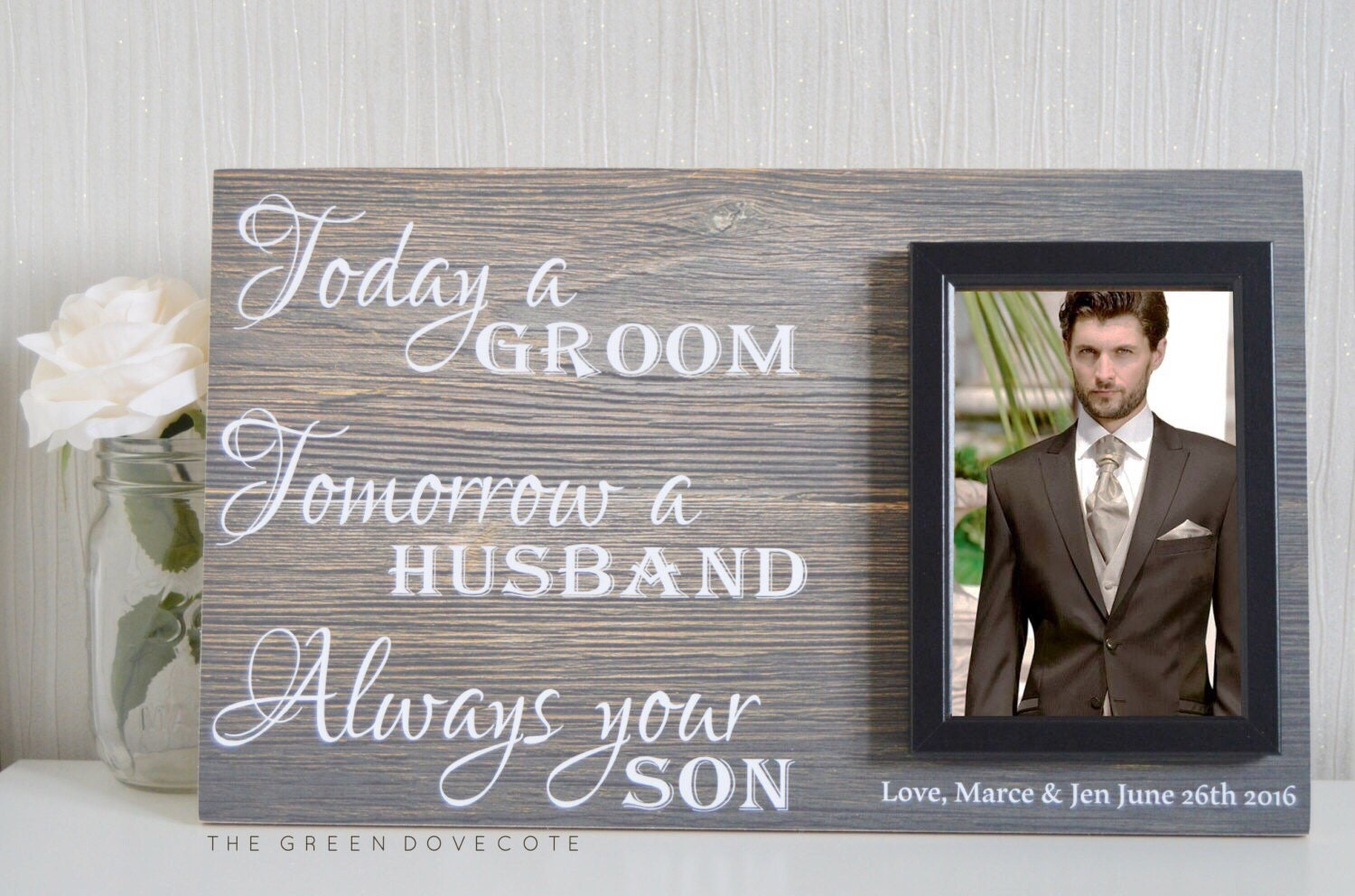 Parents Of The Groom Gift Mother Of The Groom Wedding Gift