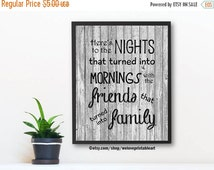 60% OFF SALE Printable Art, Family Quotes, Wall Decor, Family Quote Sign, Family Print, Wall Art, Best Friends Gift, Family Quote Print, Wal