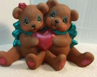 Valentine Cuddle Bears
