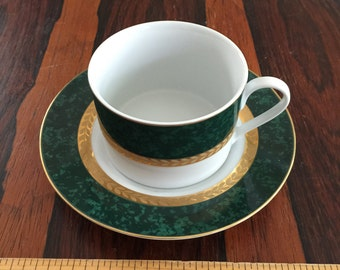 Retroneu Imperial Collection Malachite Cup Saucer