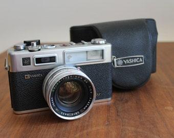 Super Clean! Yashica Electro 35 GSN 35mm Rangefinder With Original Case