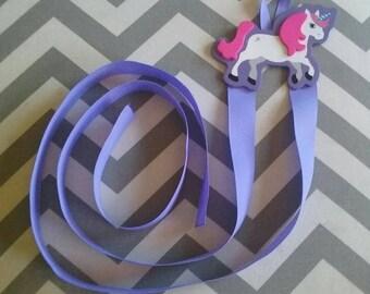 Unicorn Bow/Clip/Barrette Holder