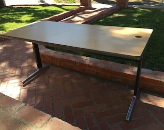 Eames Herman Miller Vaneer Top Desk/Table