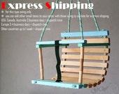Personalized Wooden Handmade Swing, Baby Swing, Handmade Children Toys