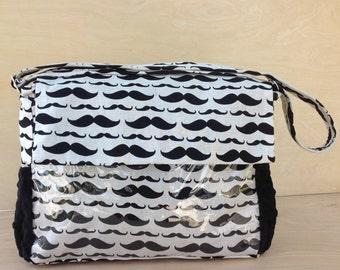 Stroller Bag- Mustaches