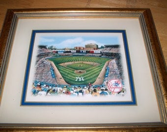 Yankees Framed Print, Eglomise Designs