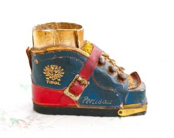 Little Curious Boot - Miniature Tirol Pertisau