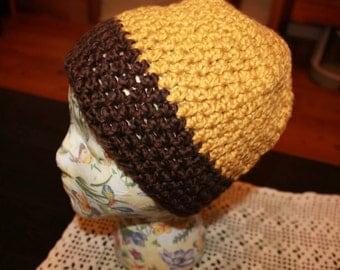 Cotton Crochet Beanie