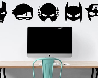Super Hero Wall Decal - Avengers, Batman Wall Decals