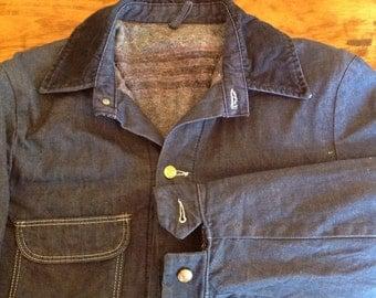 Blue Bell Sanforized lined chore coat  size 40.
