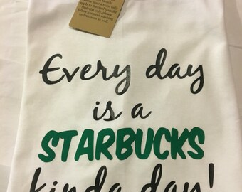 Starbucks Graphic Tee/ Coffee Lover's Tee