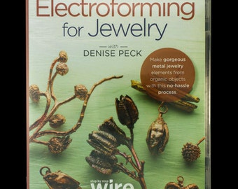 Easy Electroforming for Jewelry  - DVD (VT3017)