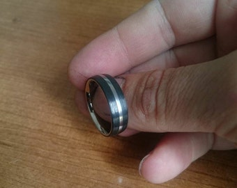 titanium and carbon fiber ring