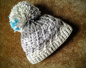 Child's Winter Hat, Crochet