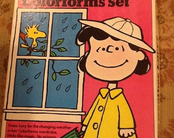 How's the weather,Lucy. colorforms set