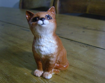 Beswick Persian Ginger Kitten