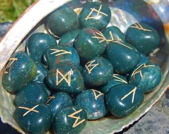 Bloodstone Rune Set Elder Futhark