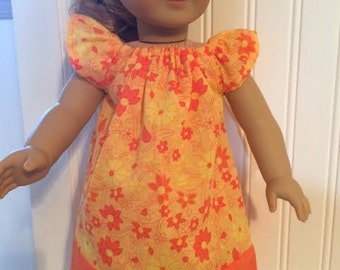 21-American girl doll dress can fit other 18' doll