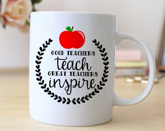 Teacher Coffee Mug - Teacher Gift - Coffee Mug Christmas Gift for Teacher