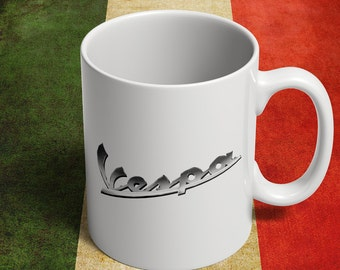 Vespa mug for italian scooters fans